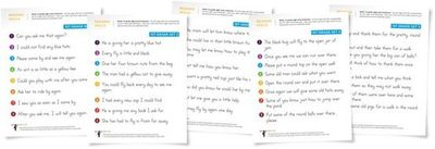 First Grade Dolch Sight Word Sentences (free)