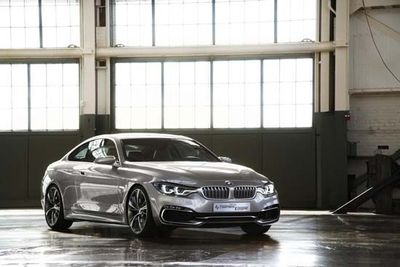 BMW has officially revealed the all-new 4-Series Coupe Concept.
