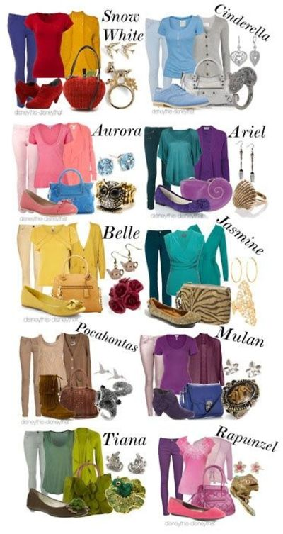 Disney Princess Casual Clothing / Theme parks i love ...