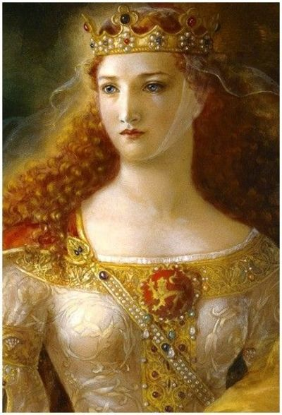 'Eleanor of Aquitaine' by Kinuko Craft.