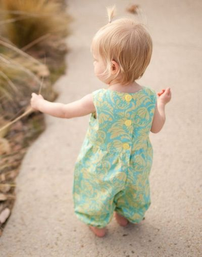 Katelyn Romper I Love This For The Little One Sew Sweet Pa