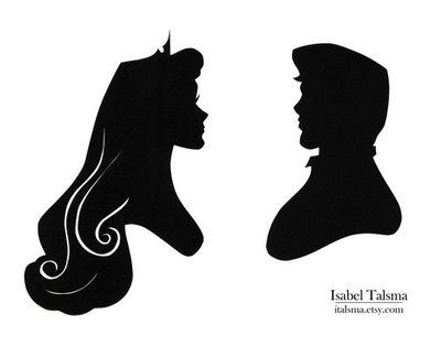 disney princess silhouette Disney Princess Silhouettes