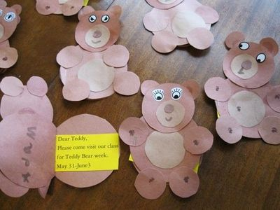 Teddy Bear Crafts Preschool Items Juxtapost