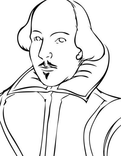 shakespeare coloring pages - photo#11