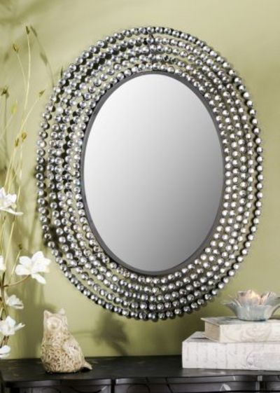 Kirklands Jeweled Bling Oval Mirror 109 99 Perfect For