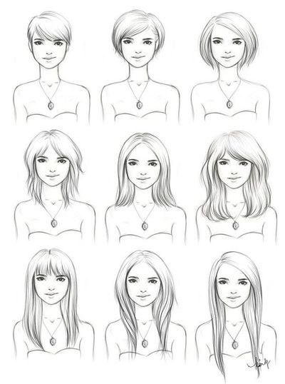 Hairstyles Drawing Interesting To See How To Manage A Shor - Drawing a hairstyle