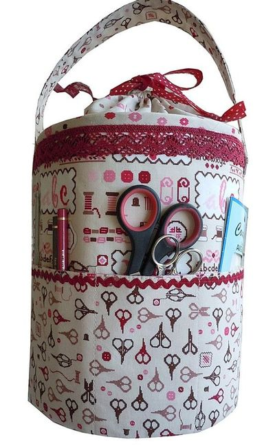 inspiration - sewing tote