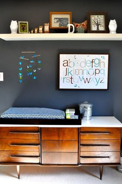 Enjoyable I Like The High Shelf Above The Dresser Changing Table Beau Interior Design Ideas Apansoteloinfo
