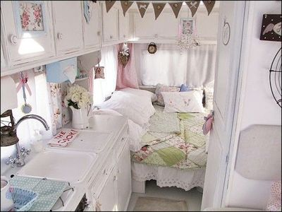 shabby chic RV