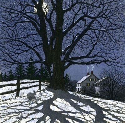 Clear Winter Night by Carol Collette