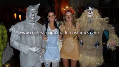 Homemade Wizard of Oz Group CostumeWizard Of Oz Homemade Costumes