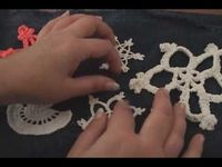 How to Stiffen Crochet Thread Ornaments