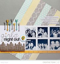 Girls' Night Out - Studio Calico Front Row Kit - Kelly Noel