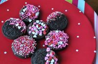 chocolate covered pretzels and oreos, yes!