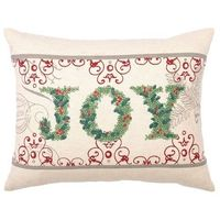 I pinned this Joy Pillow from the Christmas in July event at Joss and Main!