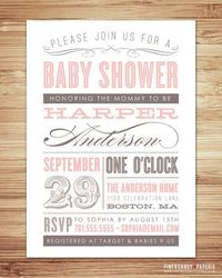 baby shower, birthday