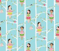 Quiet Time fabric by kayajoy on Spoonflower - custom fabric