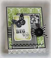 Love the use of the ribbon by Pickled Paper Designs