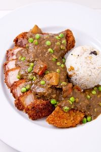 Katsu-Curry with Black Curry