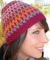 "Free pattern for Robyn Chachula's ""I Love Yarn Hat""!"