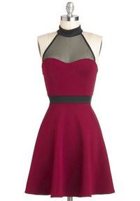 For the work holiday party? The Minneapolis Soundtrack Dress, #ModCloth