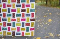 A Rail Fence Quilt Tutorial