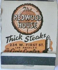 THE REDWOOD HOUSE LOS ANGELES CALIF by ussiwojima, via Flickr