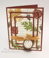 Confessions of a Stamping Addict: Falling Leaves