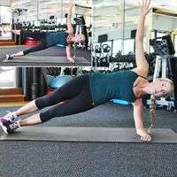 Side plank with leg lift! 10-Minute Belly-Blasting Workout