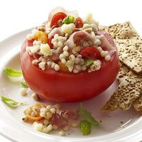 Couscous Stuffed Tomatoes #fitfluential