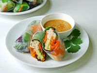 Fresh Spring Rolls (Recipe/How to)