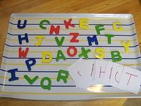 Little Family Fun: ABC Race - Run to find the letter on your card and return for another card. Fun!
