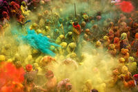 Awash with spirit and colour...