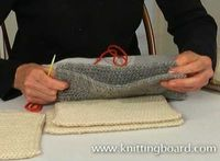 Learn a whip stitch, invisible stitch and a top stitch.