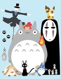 The Ghibli Gang