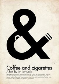 Coffee and cigarettes by Viktor Hertz- simple, brilliant