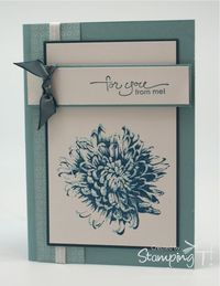Stampin' Up! Stamping T! - Blooming with Kindness.
