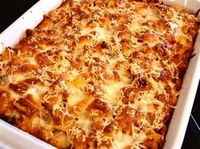 A poster Says: This Could Be The Best Recipe I Have Found On Here! Chicken Parmesan Bake! No Frying, Just Baking!