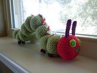 The Very Hungry Caterpillar - free crochet pattern