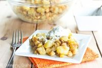 Curried Potatoes with Chickpeas | Dinners, Dishes and Desserts