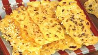 Carla Hall's Cheese Crisps recipe. #thechew