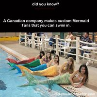 NOW I CAN FUFILL MY DREAM OF BEING A MERMAID.