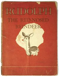 Montgomery Ward Department Store �€œRudolph the Red-Nosed Reindeer�€ Book, 1939