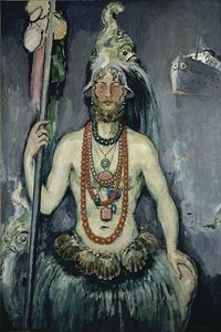 Kees van Dongen, Self-Portrait as Neptun, 1922