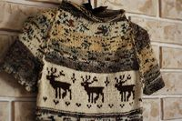 Hipster sweater.