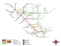 There and Back Again tube map