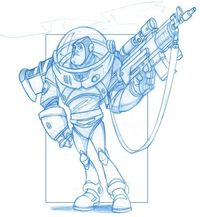Buzz Lightyear - With an Attitude by ~KingOlie on deviantART