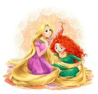 what would happen if Merida met Rapunzel