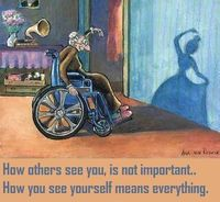 How YOU see yourself makes all the difference.