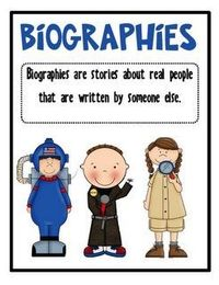 Biographies sign